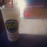 Photo taken at Tropical Smoothie Cafe by Trent S. on 9/30/2012