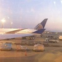 Photo taken at United 838 (Tokyo-San Francisco) by Steven H. on 12/14/2013