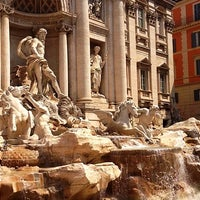Photo taken at Trevi Fountain by Olga S. on 7/8/2013
