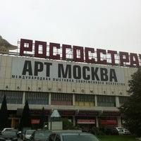 Снимок сделан в Art Moscow пользователем Maria A. 9/23/2012