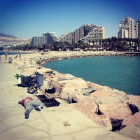 Photo taken at Royal Beach Eilat by Алексей Ш. on 4/25/2013
