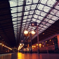 Photo taken at Paris Nord Railway Station by geoffrey d. on 12/28/2012