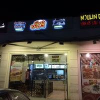 Photo taken at Dukkan Shawerma + Falafel by Mena M. on 3/30/2014