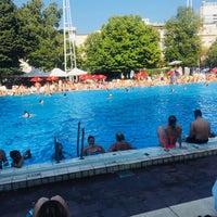 Photo taken at European Junior Swimming Championships by Nehir Ş. on 9/1/2018