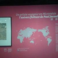 Photo prise au Musée du Quai Branly — Jacques Chirac par Gustavo C. le3/17/2013