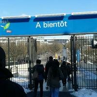 Photo taken at RER Stade de France Saint-Denis [D] by Gustavo C. on 3/14/2013