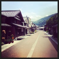 Photo taken at 熊川宿 by Katsuhito A. on 8/18/2013