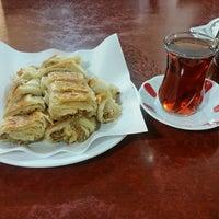 Photo taken at Özüm Cafe Börek ve Poğaça by Burak E. on 2/14/2017