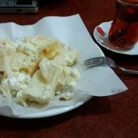 Photo taken at Özüm Cafe Börek ve Poğaça by Burak E. on 1/18/2017