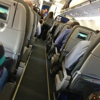 Photo taken at jetBlue Flight 1264 by Edward B. on 3/11/2013