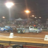 Photo taken at Saluda Tractor Pull by David C. on 8/11/2013