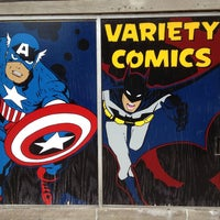 Photo taken at Variety Comics by Anthony C. on 6/5/2013