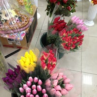 Photo taken at Zaza Flowers by Maria A. on 2/9/2013