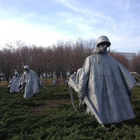 Photo taken at Korean War Veterans Memorial by Erik J. on 1/12/2013