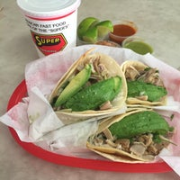 Photo taken at Super Taqueria by Javier B. on 9/3/2016