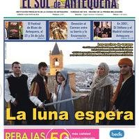 Foto tomada en El Sol de Antequera por Antonio José G. el 7/12/2014
