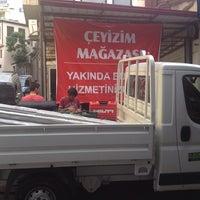 Photo taken at Çeyizim Magazasi Yahya Karabina by Cengiz Ş. on 6/21/2013