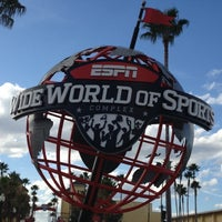 Photo taken at ESPN Wide World of Sports Complex by Gregory C. on 12/4/2012