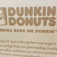 Photo taken at Dunkin Donuts by Karen L. on 10/17/2016