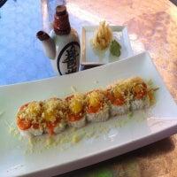 Photo taken at Fin Sushi & Sake Bar by Mike L. on 11/21/2012