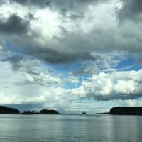 Photo taken at Departure Bay Beach by Charlotte K. on 4/15/2017