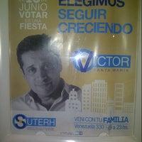 Photo taken at Centro Cultural Caras y Caretas by Dario D. on 6/15/2013