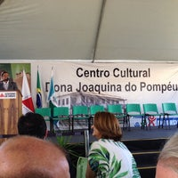 Photo taken at Centro Cultural Dona Joaquina do Pompéu by Alexandre B. on 10/26/2013