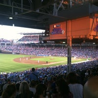 Photo taken at Wrigley Field by Britta D. on 7/15/2013