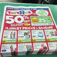 "Photo taken at Toys""R""Us by Nathaniel J. on 12/18/2012"