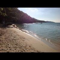 Photo taken at Baan Tai Beach by Sasha G. on 12/6/2012