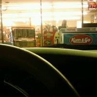 Photo taken at Kum & Go by Orlando G. on 9/22/2012