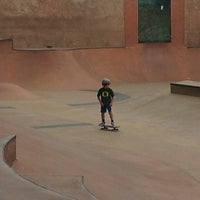 Photo taken at Seattle Center Skatepark by Tela A. on 8/14/2013