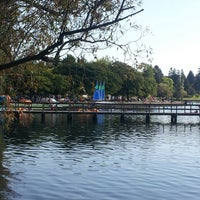Photo taken at Green Lake Boathouse by Tela A. on 9/1/2013