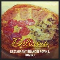 Photo taken at Restaurant Brancin Rovinj by Krunoslav G. on 11/15/2013