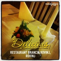 Photo taken at Restaurant Brancin Rovinj by Krunoslav G. on 11/12/2013