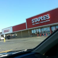 Photo taken at Staples by kevin p. on 11/14/2012