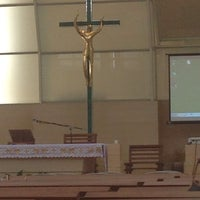 Photo taken at Our Lady of the Star Church by Bel T. on 1/11/2014