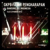 Photo taken at GKPB Fajar Pengharapan by Joe S. on 3/29/2013