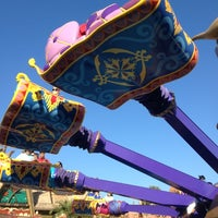 Photo taken at The Magic Carpets of Aladdin by Laura W. on 11/1/2012