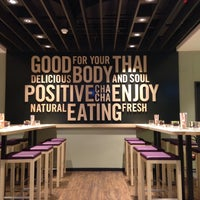 Photo taken at cha chã - Thai Positive Eating by Thomas on 9/23/2013