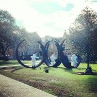 Photo taken at Gibson Quad - Tulane University by Joseph C. on 1/31/2013