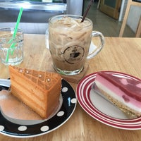 Photo taken at Good Cup Cafe' by Deer W. on 3/5/2016