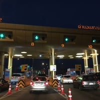 Photo taken at Anusorn Sathan Toll Plaza 1/2 by Deer W. on 3/4/2016