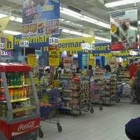 Photo taken at hypermart by Firman I. on 11/2/2012