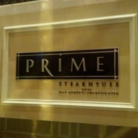 Photo taken at Prime Steakhouse by Mike O. on 12/27/2012