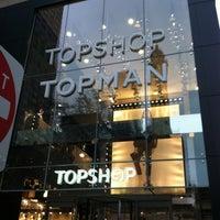 Photo taken at Topshop Topman by Joanne P. on 12/16/2012
