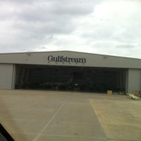 Photo taken at Gulfstream Aerospace by Richard L. on 11/12/2012