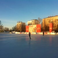 Photo taken at Каток «Новая лига» by Глеб А. on 2/26/2013
