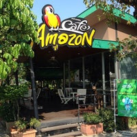 Photo taken at Café Amazon by ??? ?. on 6/18/2013