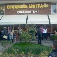 10/27/2012 tarihinde Alper D.ziyaretçi tarafından Eskişehir Çibörek Evi'de çekilen fotoğraf